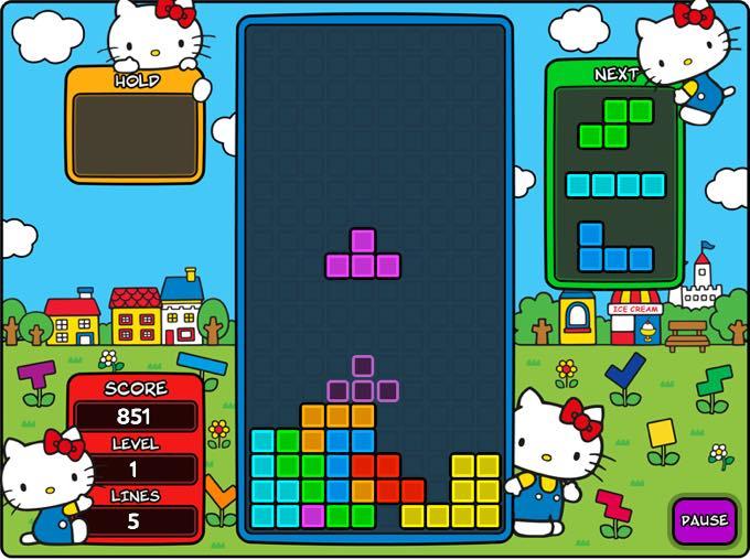 Tetris x Hello Kitty